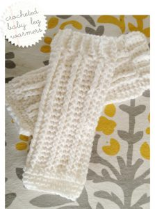 Crocheted Leg Warmers