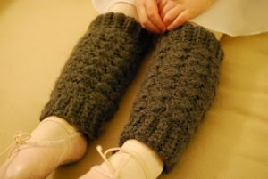DIY Crochet Leg Warmers