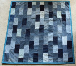 Denim Fleece Quilt