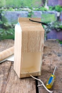 Easy Milk Carton Bird Feeder