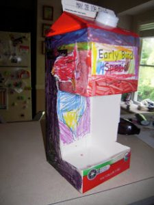How to Build a Milk Carton Bird Feeder