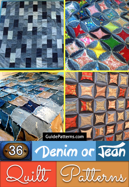 36 Denim Or Jean Quilt Patterns Guide Patterns Autos Post