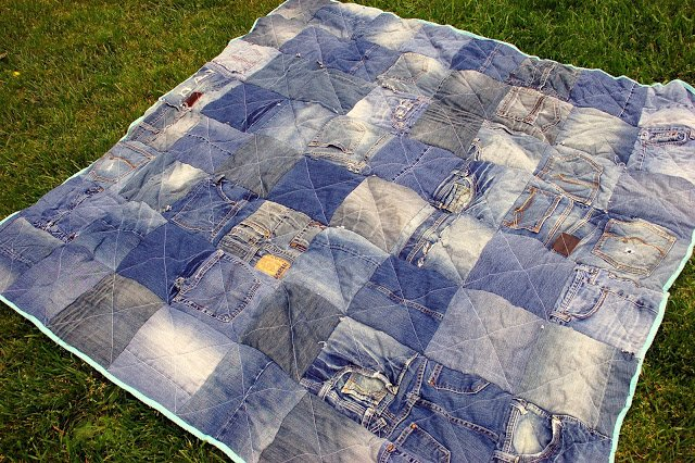36 Denim or Jean Quilt Patterns | Guide Patterns : jean quilts patterns - Adamdwight.com