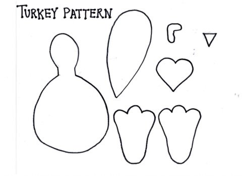 graphic about Turkey Cut Out Printable identified as 20 Enjoyment and Cunning Paper Bag Turkey Initiatives Expert Styles