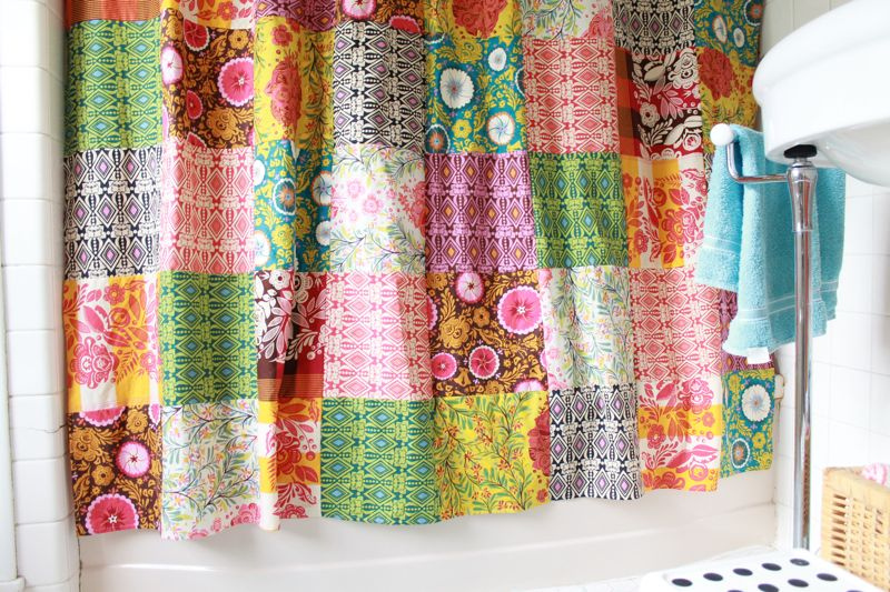 Superior Patchwork Curtain Picture
