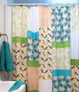 Patchwork Shower Curtain