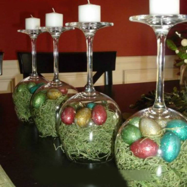 Wine glass candles and holders you can diy guide patterns