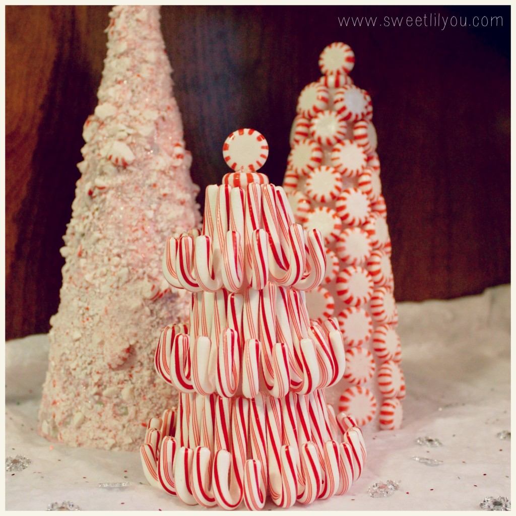 Candy Decorated Christmas Trees