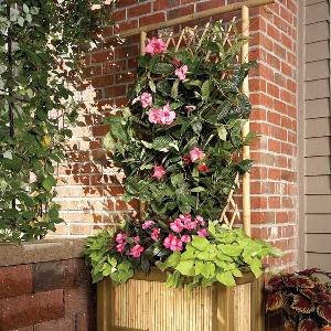 Log Planter Box