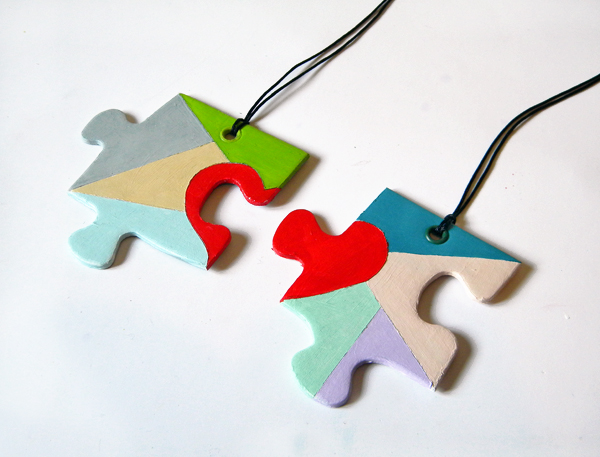 12 Creative Puzzle Piece Necklace Designs Guide Patterns
