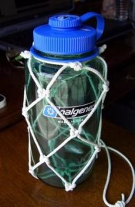 Paracord Bottle Pouch