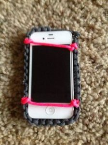 Paracord Cell Phone or iPhone Pouch