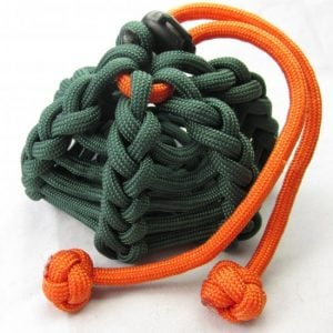 Paracord Cinch Coin Pouch