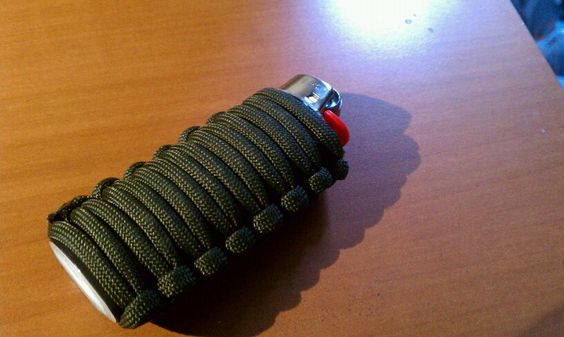 how to make a paracord pouch