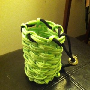Paracord Slingshot Ammo Pouch