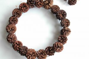 Pinecone Wreath Wire