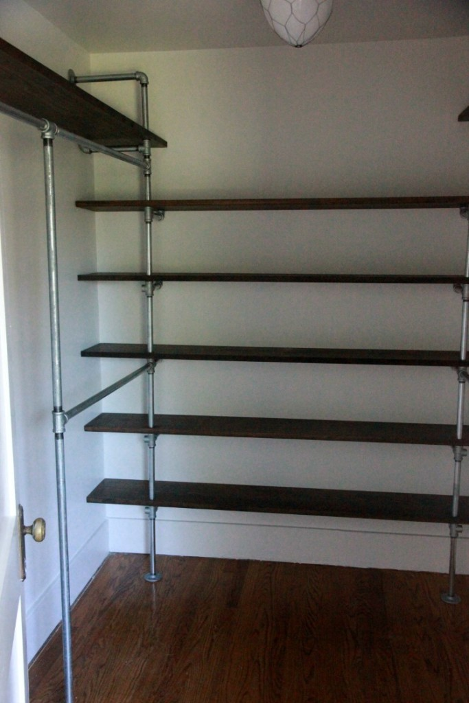 23 Diy Plans To Build A Pipe Bookshelf Guide Patterns