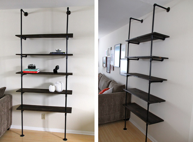 Permalink to build your own wood shelving unit