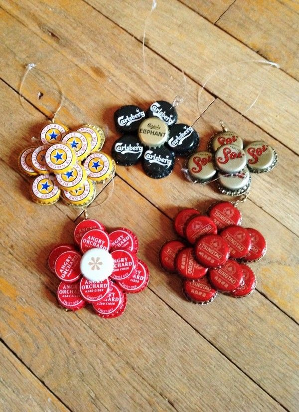 Bottle cap crafts guide patterns for Crafts to do with beer bottle caps