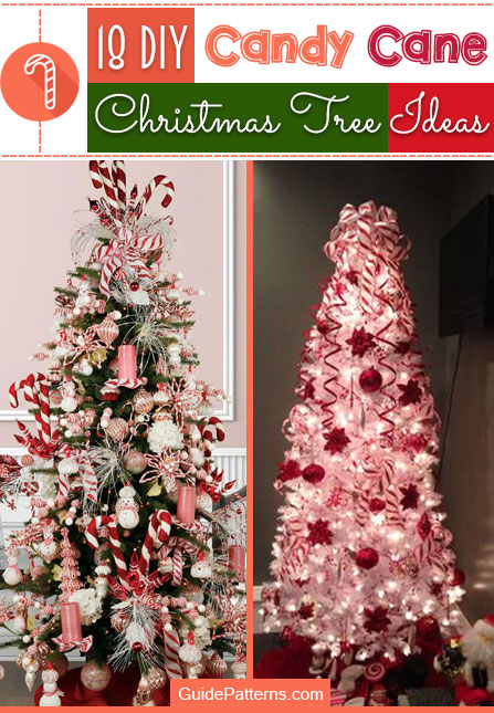 sale retailer 90b87 1642c 18 DIY Candy Cane Christmas Tree Ideas | Guide Patterns