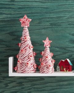 Christmas Tree Shaped Candy Canes
