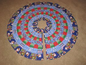 Christmas Tree Skirt Quilt