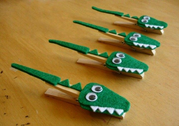 Clothespin Crafts Guide Patterns