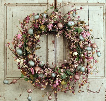 Easter Twig Wreath