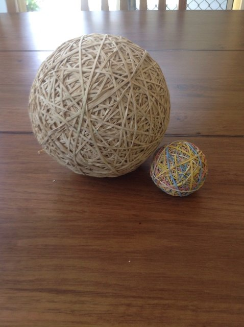 What Is In The Center Of A Rubber Band Ball 50