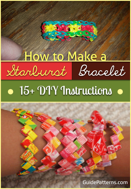 How to Make a Starburst Bracelet: 15+ DIY Instructions | Guide Patterns