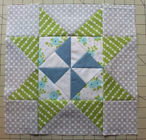 Pinwheel Star Quilt Block Pattern