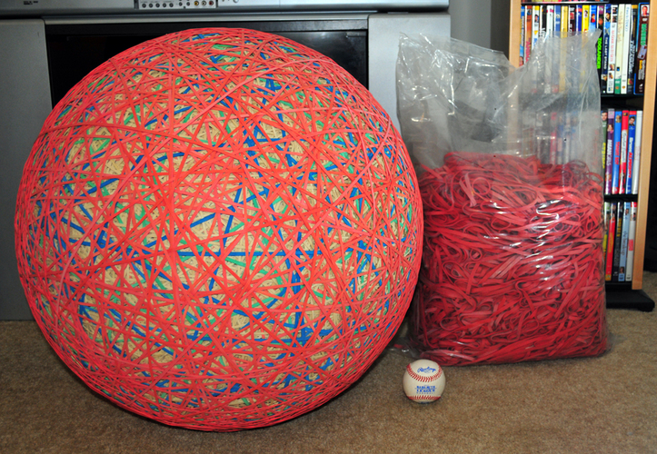What Is In The Center Of A Rubber Band Ball 69