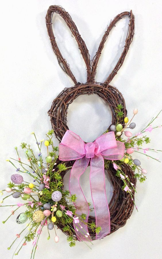 how to make a twig wreath without wire