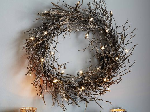Christmas Wreath With Lights