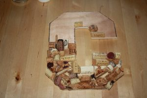 Wine Cork Letter Tutorial