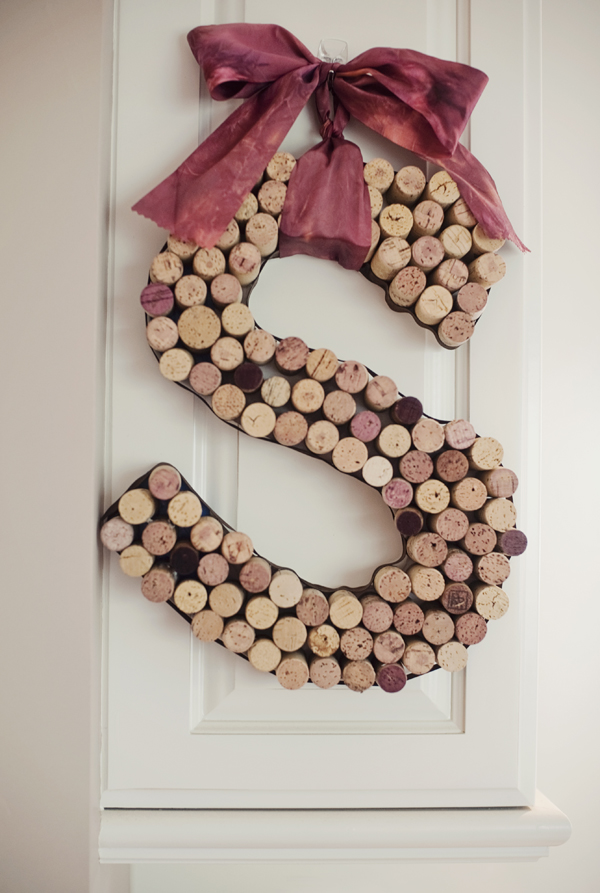 wine cork letter how to