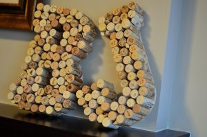 Wine Cork Wall Letters