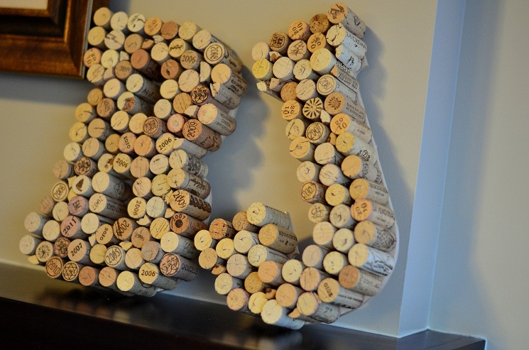 17 Easiest Ways To Make Wine Cork Letters Guide Patterns