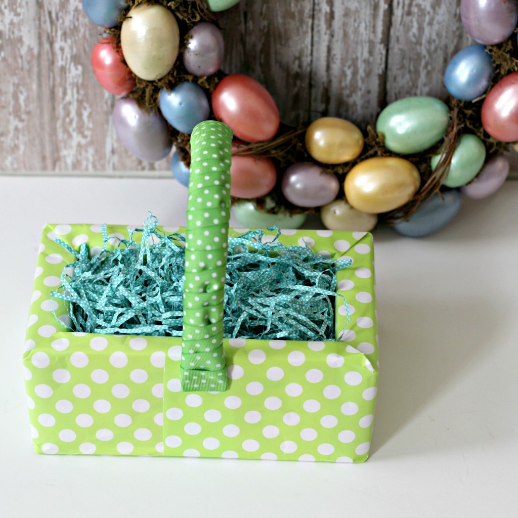 8  ideas to make cute candy easter baskets