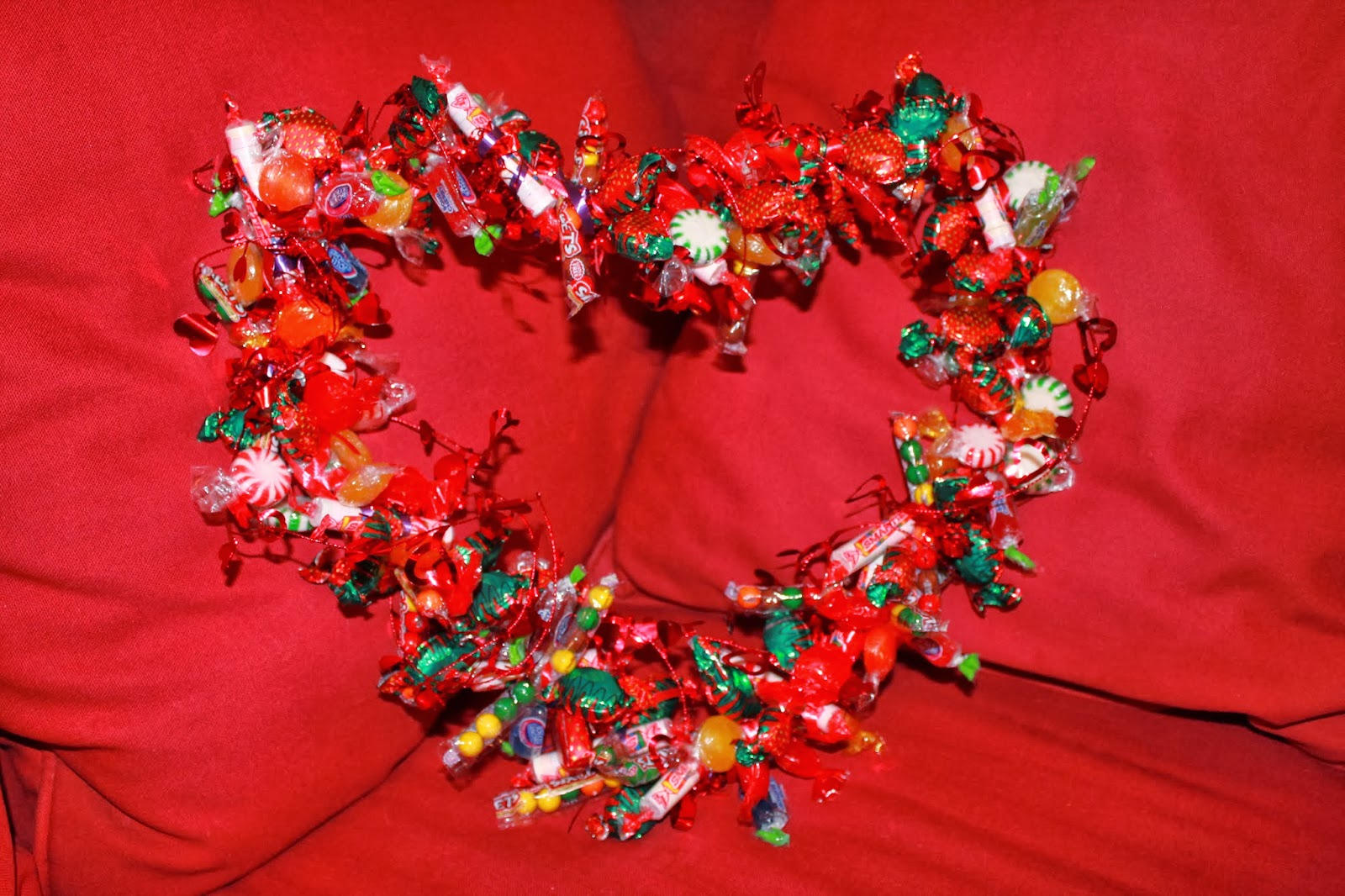 Heart Shaped Christmas Wreaths