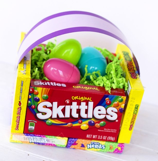 8 ideas to make cute candy easter baskets guide patterns negle Choice Image