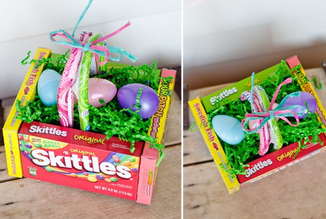 8 ideas to make cute candy easter baskets guide patterns easter candy baskets negle Choice Image