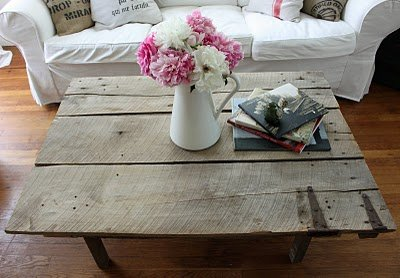 Antique Barn Door Coffee Table