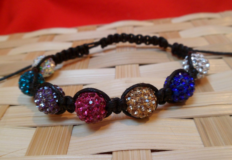 15 Tutorials To Make A Shamballa Bracelet Guide Patterns