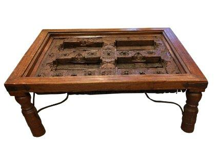Indian Door Coffee Table - 15+ DIY Coffee Tables Made From Old Doors Guide Patterns