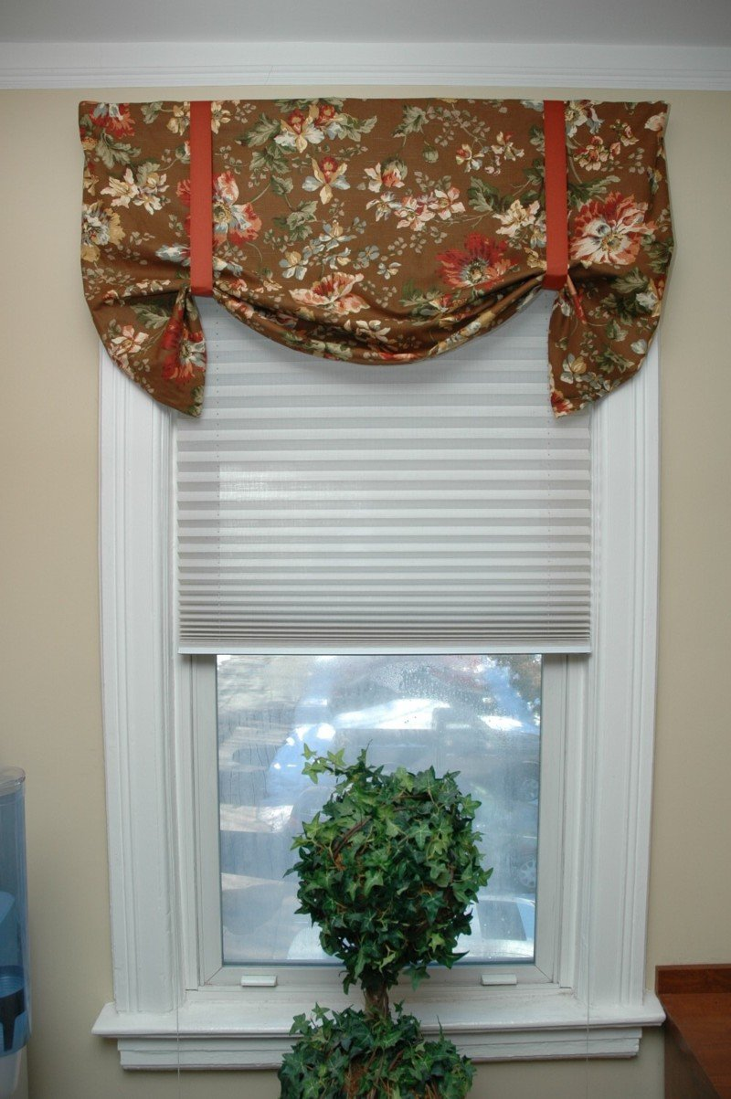 box her valances kitchen view diy home from patterns valance