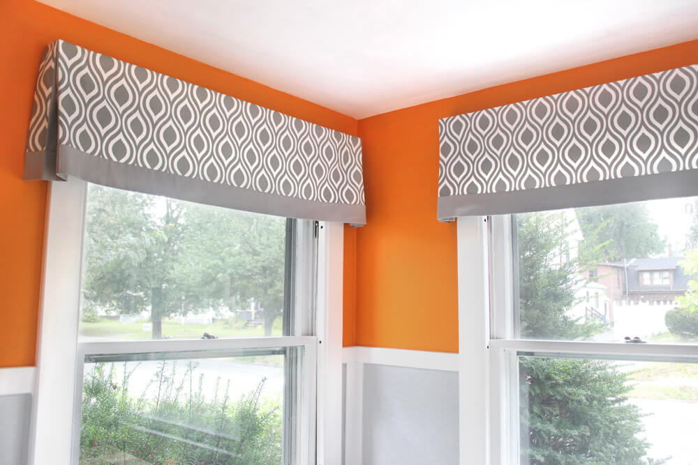 No Sew Cornice : Easy no sew valance tutorials guide patterns