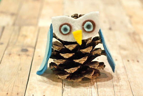 6 Creative Ideas for DIY Pine Cone Owls | Guide Patterns