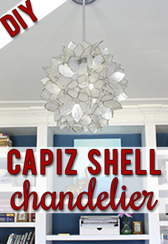 10 diy capiz shell chandeliers guide patterns round capiz shell chandelier aloadofball Choice Image