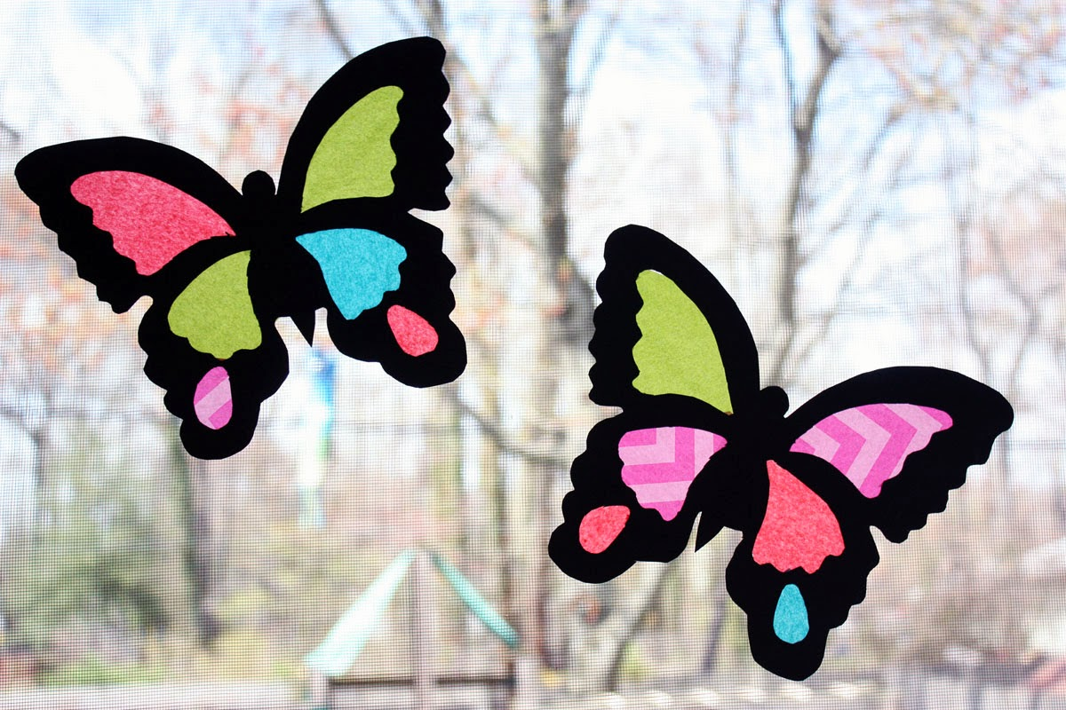 Tissue Paper Stained Glass 11 Super Cool Ideas Guide